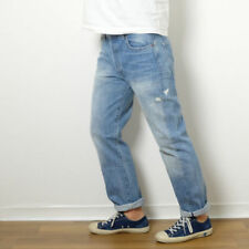 LEVI'S 1966 LVC 501 MR KITE CONE MILLS RED LINE SELVEDGE DENIM JEANS 29x34