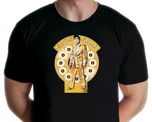 Elvis Presley - Gold Elvis T-shirt (Jarod Art Design)