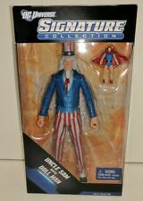 DC COMICS UNIVERSE SIGNATURE COLLECTION UNCLE SAM AND DOLL MAN ACTION FIGURES