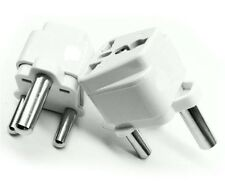 Universal Grounded Type M Plug Adapter for South Africa Travel Power US UK AUS