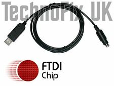 FTDI USB cable Cat & Prog. Yaesu FT-736R FT-747 FT-767 FT-980 FT-1000 FT-1000D