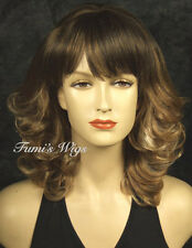 Classic Curly Style Wig In Multi-Colour From Fumi Wigs UK