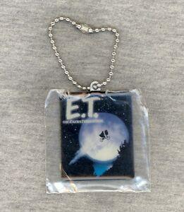 E.T. the Extra-Terrestrial Keyring 2003 NEW - Elliott Flying Bike Full Moon Logo