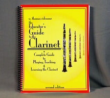 Tom Ridenour Educators Guide To The Clarinet