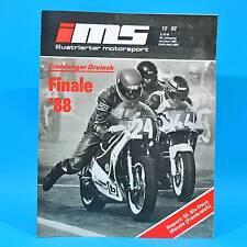 DDR Illustrierter Motorsport IMS 10/1988 Six Days Frohburger Dreieck Schipner