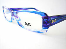 New Dolce and Gabbana Eyeglasses D&G 1193 Blue Purple 1679 Authentic 50-16-135