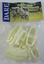 5 New Polytape Electric Fence Wire Tighteners Dare Item 2769 Use 12 Tape Wire