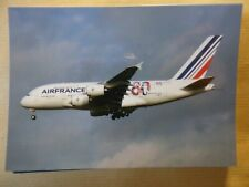 AIR FRANCE  AIRBUS A 380    F-HPJI   /  collection vilain N° 804