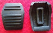 Ford Escort mark 1 + 2 Capri manual Brake and Clutch Pedal Pad Rubbers freepost