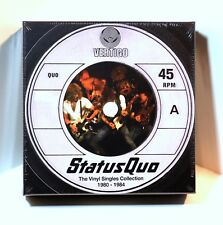 "STATUS QUO The Vinyl Singles Collection 1980-1984 12 x 7"" 45rpm BOX SET Sealed"