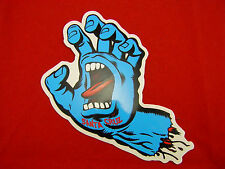 "SANTA CRUZ SCREAMING HAND STICKER 6"""