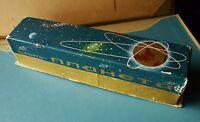 Russian Ukrainian Soviet Space box Rocket Earth Gagarin Sputnik