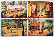 Album LONTANO WEST 1 DARDO 1962 - 4 figurine 79 80 81 82