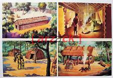 Album LONTANO WEST 1 DARDO 1962 - 4 figurine 79 80 81 82