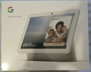 Google Nest Hub Max Chalk Smart Speaker - Brand New Sealed & Mint!!!