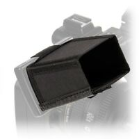 New LCDHD6 Sun Shade Protector for Panasonic AG-HMC 71E and Sony HDR-FX1000.