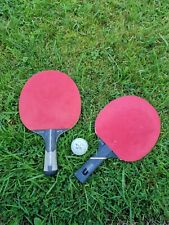 New listing Ping Pong Tennis Table 2 Rackets And Ball