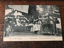 carte postale ancienne saint germain en laye N 9 fete des loges les cuisines