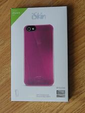 New iSkin Case for iPhone 5 5S, Pink Color