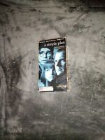 A Simple Plan VHS Bill Paxton Bridget Fonda Billy Bob Thornton 1998