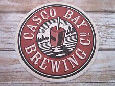 Beer Breweriana COASTER ~ Shipyard's CASCO BAY Brewing ~ Portland, MAINE Brewery