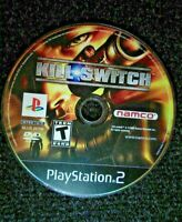 Kill Switch Ps2 Playstation 2 Disc Only TESTED Rare