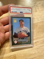 MICKEY MANTLE PSA 7 NM New York #2001 Topps 2006 New York Yankees Ruth Gorgeous