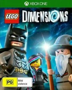 LEGO Dimensions Xbox One VERY GOOD FREE POST + TRACKING INC MANUAL (RARE)