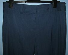 Women's Size 12 Unlisted by Kenneth Cole Dress Pants Blue w/ White Pin Stripes