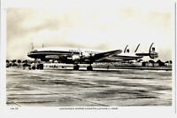 1950s PIA Pakistan International Airlines Lockheed Constellation L-1049 Postcard