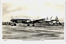 1950s PIA Pakistan International Airlines Lockheed Constellation L-1049 Postcard