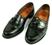 Allen Edmonds Newport Mens Kiltie Slip On Tassel Loafers Dress Shoe Black 11 EEE