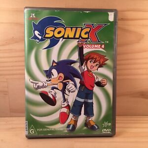 SONIC X Volume 4 Awesome Kid's Animated Hero Adventure DVD Episodes (R4) 2003