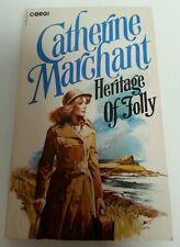 BOOK - Vintage Corgi Paperback Catherine Marchant Cookson Heritage Of Folly 1980
