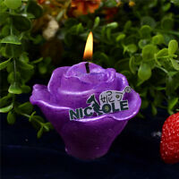 Nicole Custom Handmade 3D Rose Flower Silicone Soap Candle Molds Resin,Clay