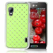 Bling Diamond Case für LG Optimus L5 II Dual E455 in hell grün Backcover