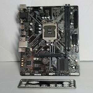 Gigabyte H310M S2H GSM Micro ATX Motherboard Micro ATX with i/o shield TESTED
