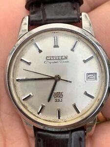 CitizenCrystal date Automatic 33 Jewels