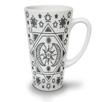 Sun Moon Stylish NEW White Tea Coffee Latte Mug 12 17 oz | Wellcoda