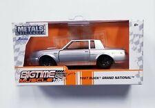 JADA METALS DIE CAST 1987 BUICK GRAND NATIONAL Bigtime Muscle Series 1:32
