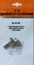 Quickboost 1/48 F-15D Eagle Sièges éjectables Avec Ceintures De Sécurité # 48105