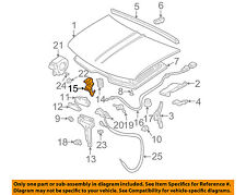 GM OEM Hood-Safety Catch Latch Lock 15016227