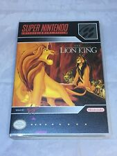 The Lion King Custom SNES Super Nintendo Case Only (No Game included)