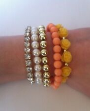 bangle accessories set Orange/yellow floral theme