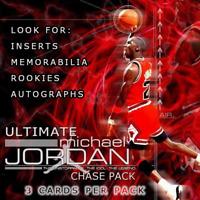 Ultimate MICHAEL JORDAN Hot Pack NBA - MJ Card in every pack!