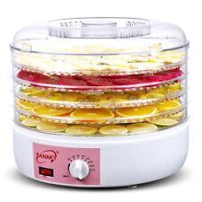 220V Food Fruit Dehydrator Machine Dryer 5 Plastic Drying Racks for Jerky Meat