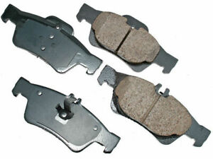 For 2007-2013 Mercedes S550 Brake Pad Set Rear Akebono 15859YH 2008 2010 2009