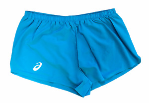 Asics Men's Running Shorts Top Impact Line Woven Shorts - Diva Blue - New