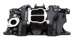 EDELBROCK SBM Performer Manifold - 318/360 - Black P/N - 21763