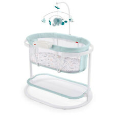Fisher Price GKH52 Soothing Motions Baby Bassinet with Music, Pacific Pebble